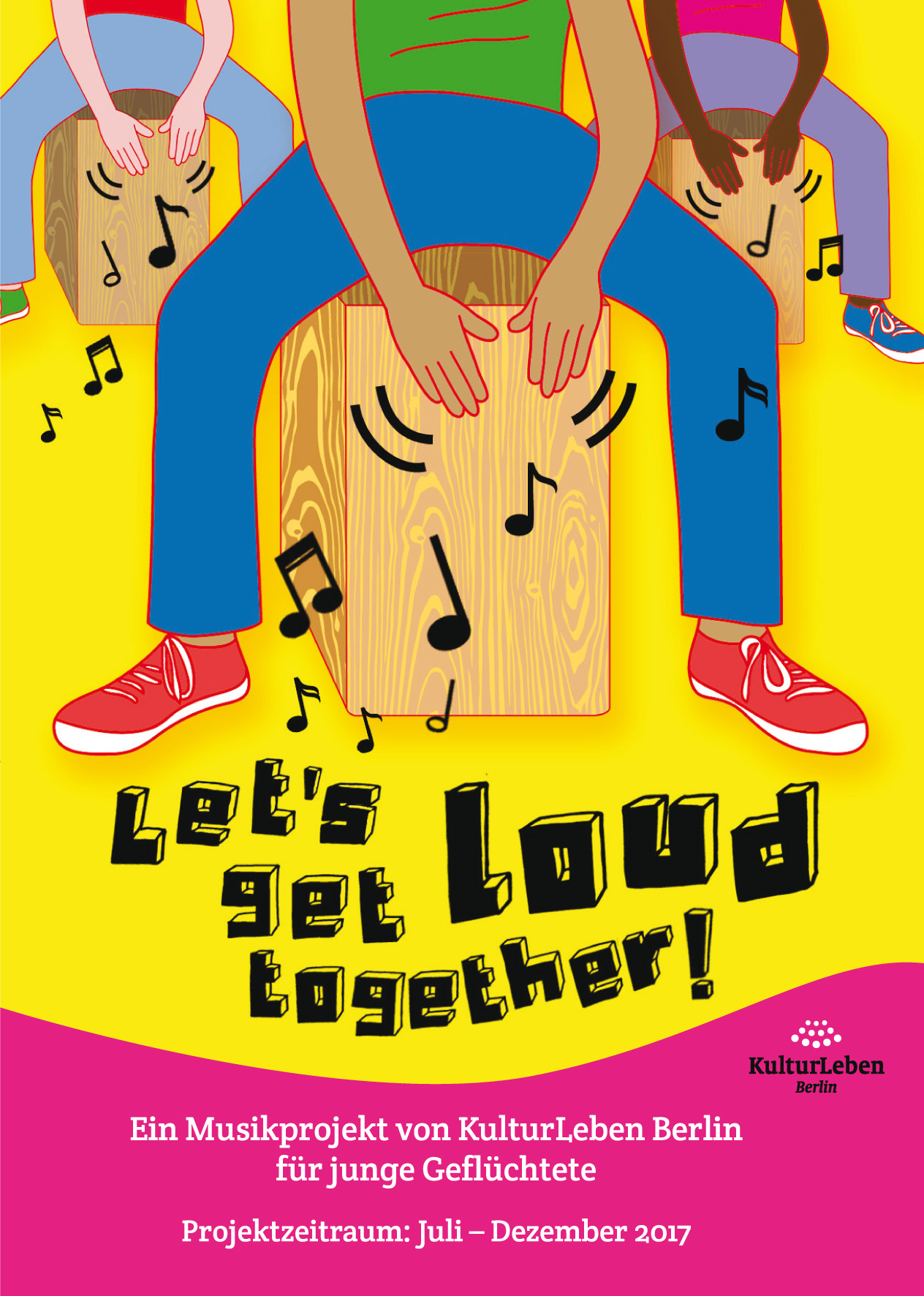 Let`s get loud together